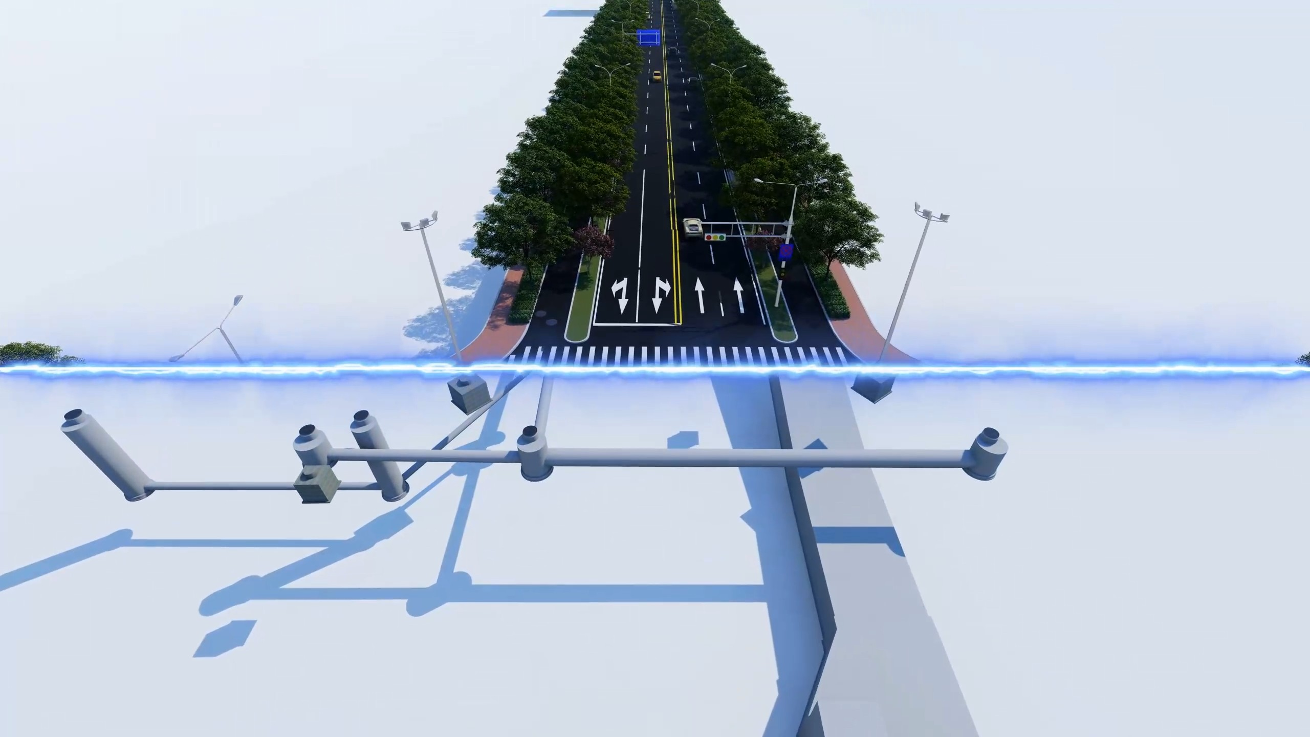 濟南市先行區市政道路二期二標段項目BIM技術應用